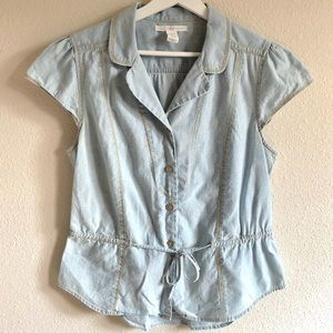 Levi's Chambray Button Down Shirt
